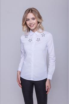 Блузка с вышитыми звездами Marimay